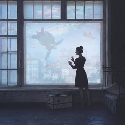 Aquatic Art Print by Anka Zhuravleva