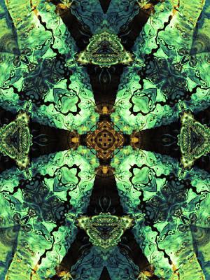Aquatic Lace 10 Art Print by Shawna Rowe