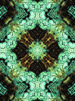 Photograph - Aquatic Lace 11 by Shawna Rowe