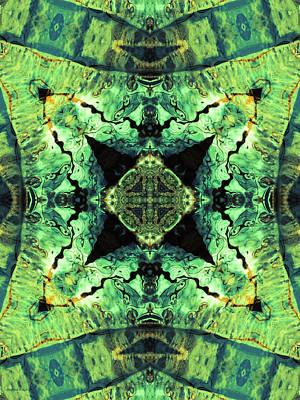 Photograph - Aquatic Lace 12 by Shawna Rowe