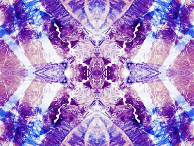 Photograph - Aquatic Lace 16 by Shawna Rowe