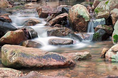Waterfall Photograph - Aquatic Staircase by Benjamin DeHaven