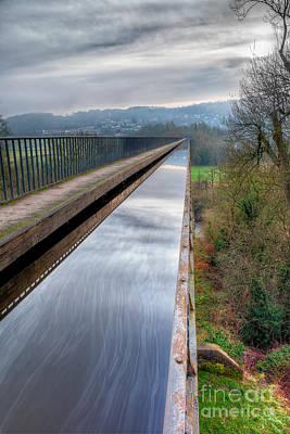 Aqueduct Digital Art - Aqueduct by Adrian Evans