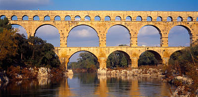 Repetition Photograph - Aqueduct, Pont Du Gard by Panoramic Images