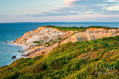 Photograph - Aquinnah Cliffs by Susan Cole Kelly