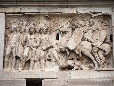 Photograph - Ara Pacis Monument by Brenda Kean