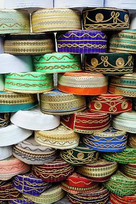 Arab Caps For Sale, Tunisia, North Art Print