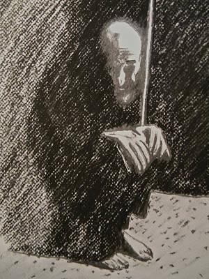 Arab Despair Three -  Despondent Original by Marwan George Khoury