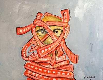 Painting - Arab Israelis II  by Marwan  Khayat