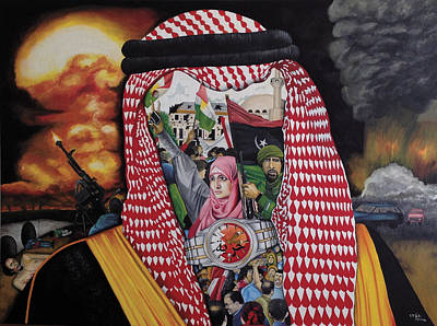 Painting - Arab Revolution by O Yemi Tubi