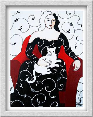 Arabesque Art Print by Eve Riser Roberts