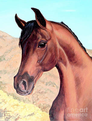 Painting - Arabian Beauty by Art By - Ti   Tolpo Bader
