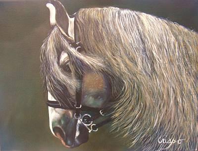 Arabian Beauty Art Print by Jean Yves Crispo