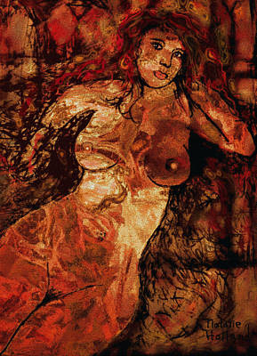 Artistic Nude Mixed Media - Arabian Dream by Natalie Holland