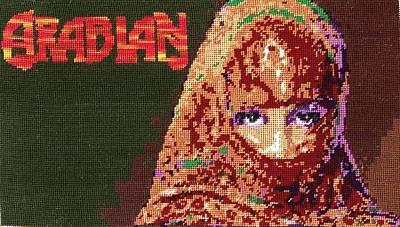 Arabian Girl Original by Mona  Bernhardt-Lorinczi