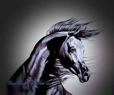 Arabian Motivation Art Print by Cheryl Poland