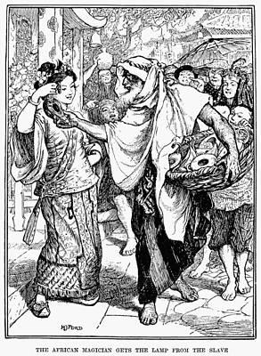 Arabian Nights, 1898 Art Print by Granger