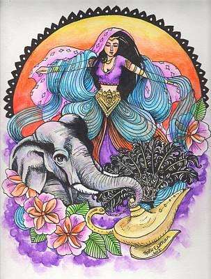 Arabian Nights Art Print by Katie Essman