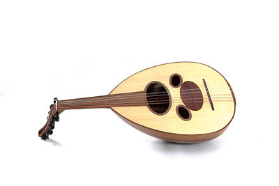 Musicians Royalty Free Images - Arabian oud Royalty-Free Image by Tom Gowanlock
