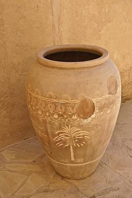 Photograph - Arabian Pottery by Michele Burgess