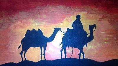 Arabian Sands Art Print by Remya Damodaran