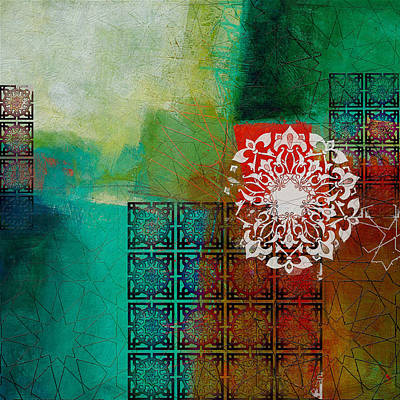 Painting - Arabic Motif 6 by Corporate Art Task Force