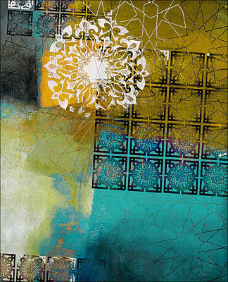 Dubai Gallery Painting - Arabic Motif 6b by Corporate Art Task Force