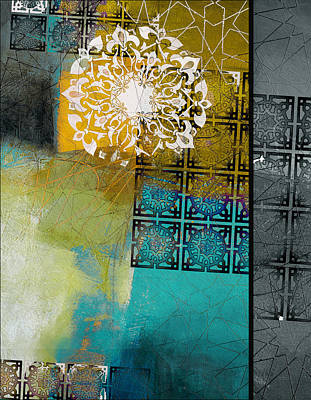 Painting - Arabic Motif 6c by Corporate Art Task Force