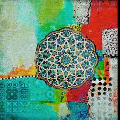 Painting - Arabic Motif 7 by Corporate Art Task Force