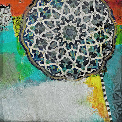 Painting - Arabic Motif 7d by Corporate Art Task Force