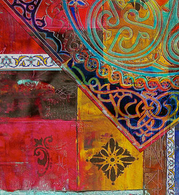 Painting - Arabic Motifs 11 by Corporate Art Task Force