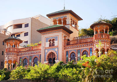 Photograph - Arabic Villa In Torremolinos by Brenda Kean