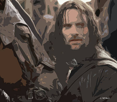 Photograph - Aragorn by George Pedro