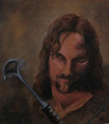 Aragorn Art Print
