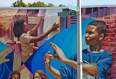 Photograph - Aramat St Mural by Alice Gipson