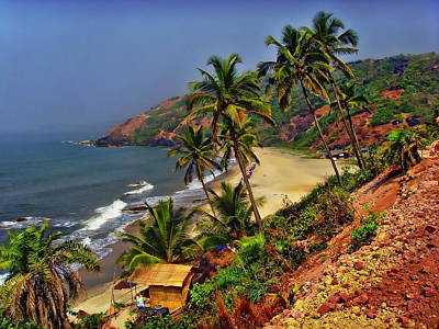 Arambol Beach India Art Print