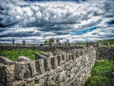 Aran Island Cemetary Ireland Original by Gestalt Imagery