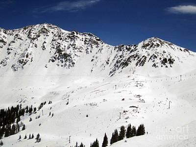 Arapahoe Basin Ski Resort - Colorado          Art Print
