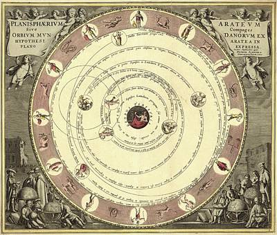 18th Century Photograph - Aratus Planisphere by Library Of Congress, Geography And Map Division