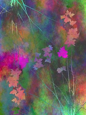 Digital Art - Arbor Autumn Harmony 3 by Tim Allen