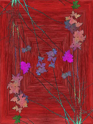 Digital Art - Arbor Autumn Harmony 7 by Tim Allen