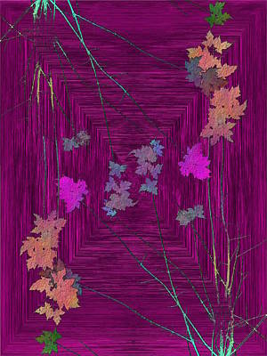 Digital Art - Arbor Autumn Harmony 8 by Tim Allen