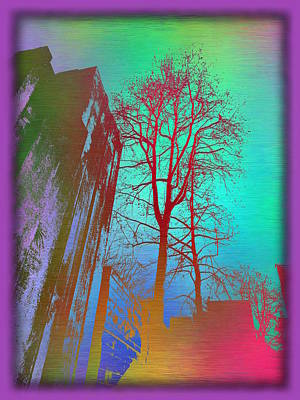 Digital Art - Arbor In The City 2 by Tim Allen