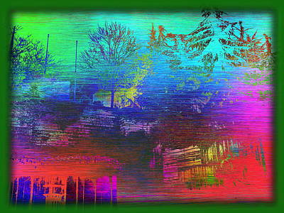 Digital Art - Arbor In The City 3 by Tim Allen