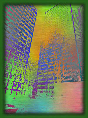 Digital Art - Arbor In The City 4 by Tim Allen
