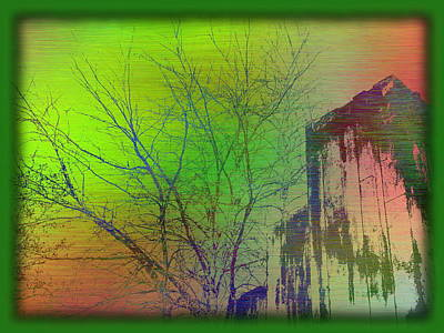 Digital Art - Arbor In The City 7 by Tim Allen