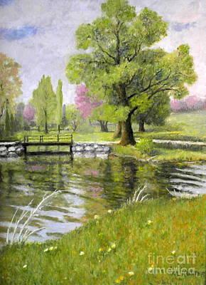 Arboretum 1 Art Print