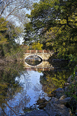 Photograph - Arboretum Drive Bridge - Madison - Wisconsin by Steven Ralser