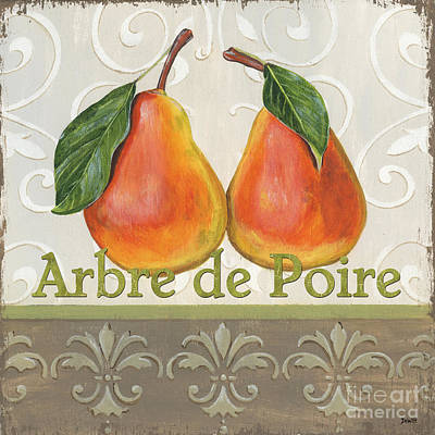 Decor Painting - Arbre De Poire by Debbie DeWitt