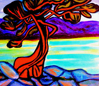 Arbutus Tree 1 Art Print